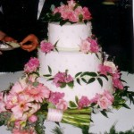 3 Tier CakeOnCake PinkFlowers