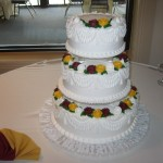 3 Tier Fluted Ruffle