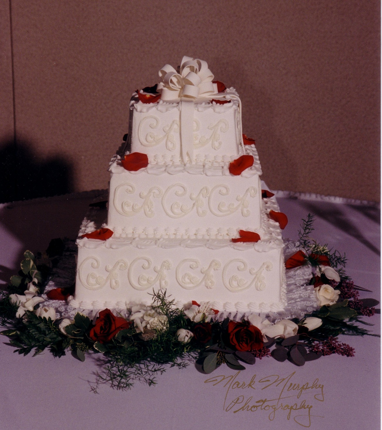 Square wedding cakes taylors bakery junglespirit Gallery