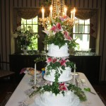 3 Tier With Lights and Flowers