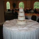 4 Tier Swiss Dot With Pastels