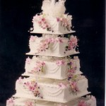 5 Tier Square Traditional