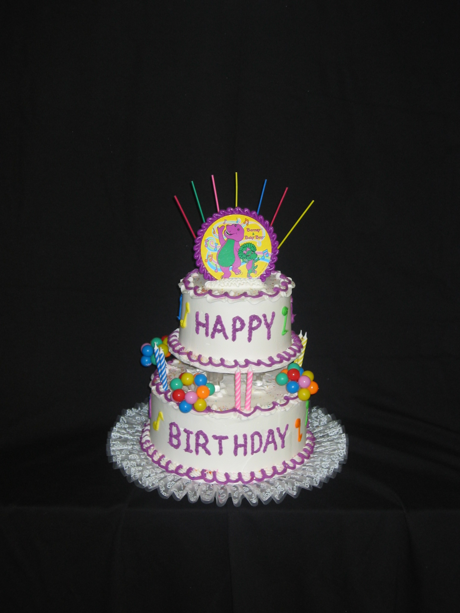 Tiered Birthday Cakes Taylors Bakery