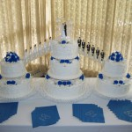 Bridge Cake With Royal Blue 2