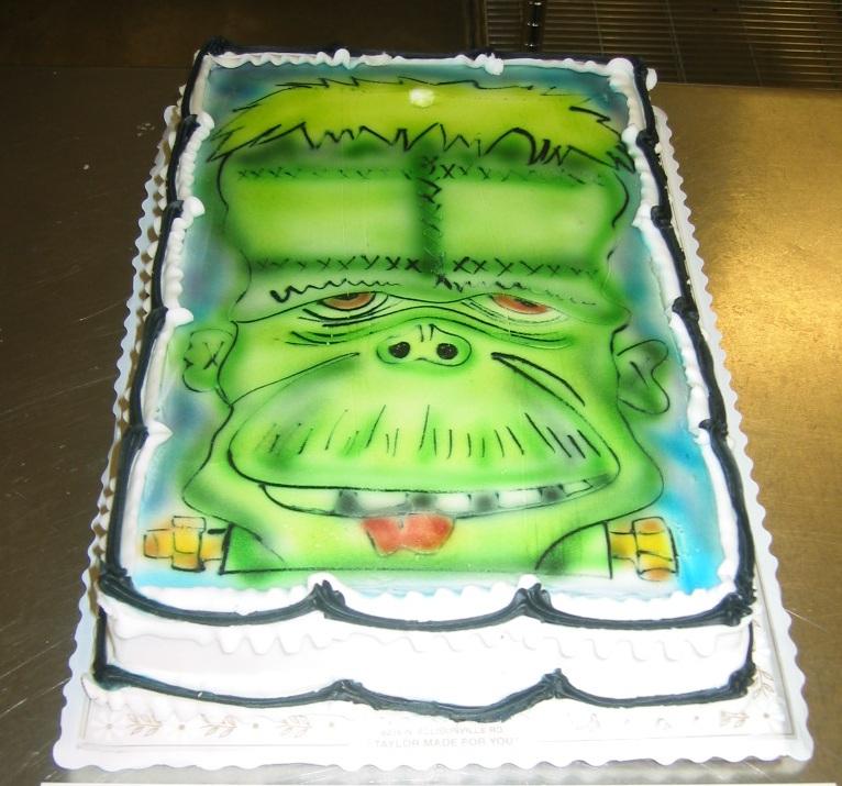 Halloween Cakes Taylors Bakery