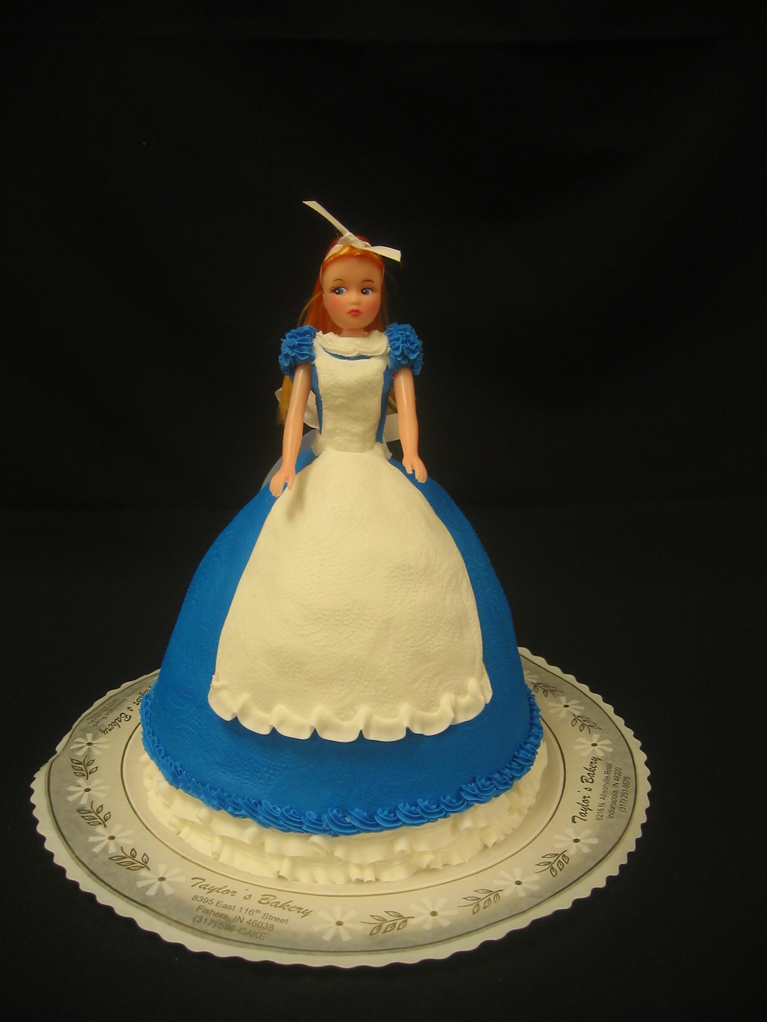 Doll Cakes « Taylor\'s Bakery