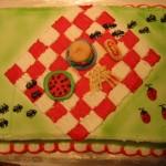 Picnic Sheet Cake