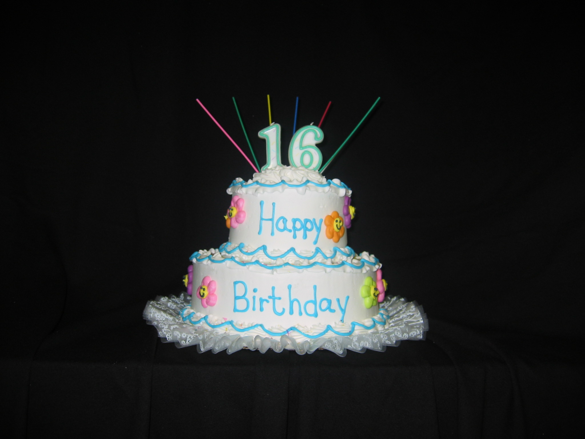 Tier Square St Birthday Cakes