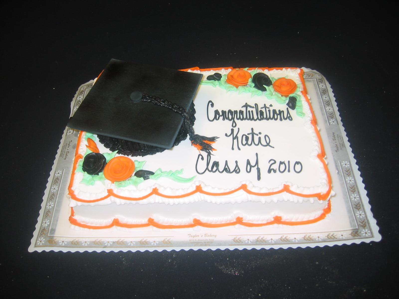 Graduation Cakes Taylors Bakery