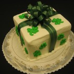 Clover Package Cake