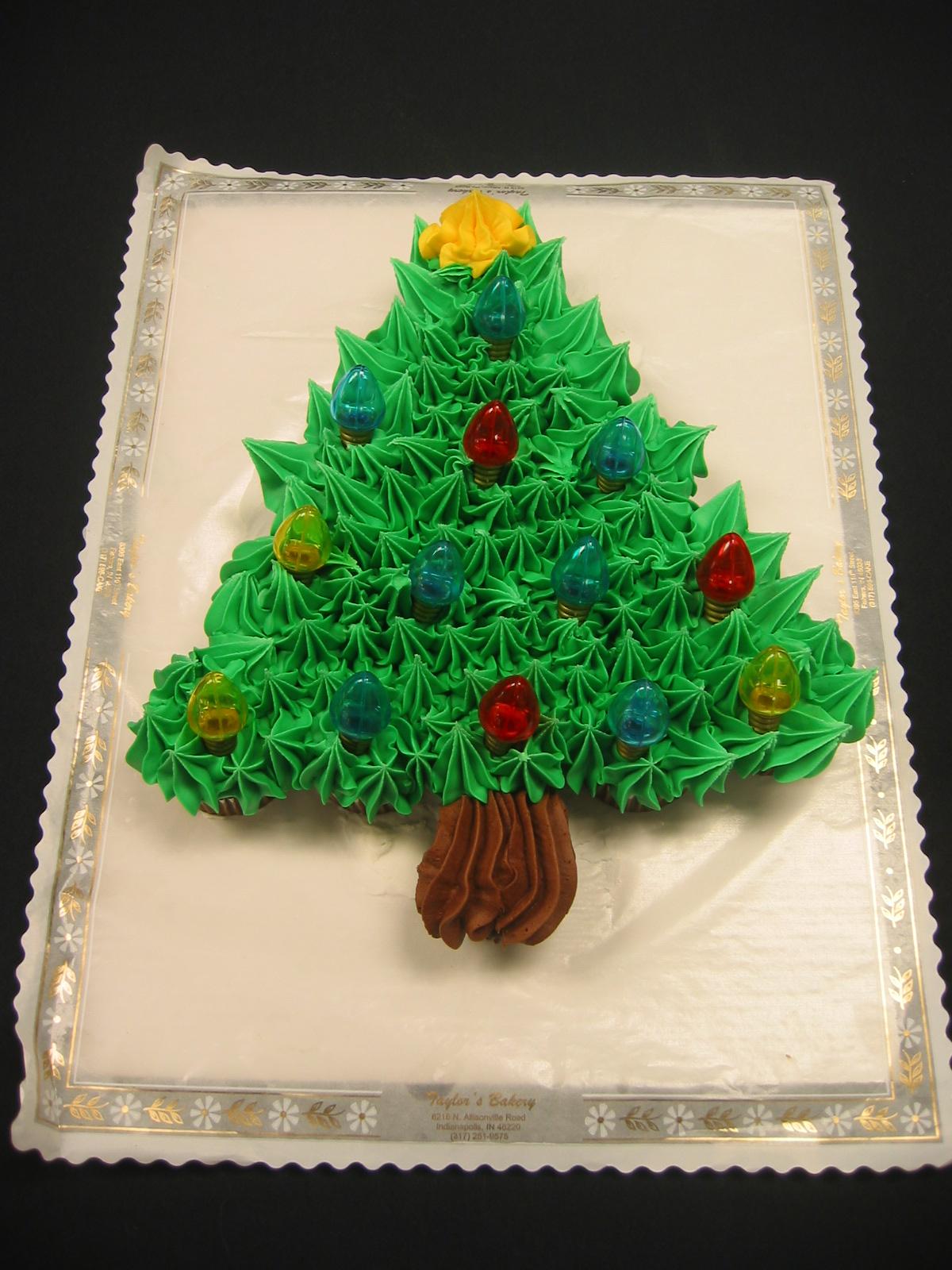 Cupcake Tree Pull Apart