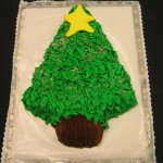 Tree Shaped Cake