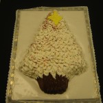 Tree Shaped WHITE ICING