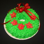 Wreath Shaped Cake